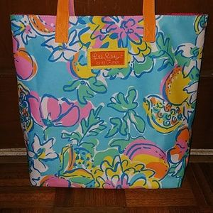Lilly Pulitzer large tote bag